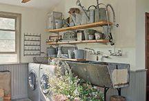 Interiors-Laundry/Mud Room / by Portia Kolpin