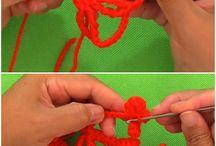 Snowflakes hekling crochet