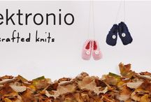 plektronio's handcrafted knits for babies & kids / Get your little ones ready for cold winters wearing warm plektronio outfits. Our campaign with our newly featured handmade knits has just been launched on Indiegogo.  #plektronio #handmade #knits #kids #crowdfunding