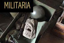 Antieke Militaria / Voor de echte militaria verzamelaar. Spullen uit het leger van vroeger.