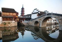 Antient Chinese Architecture Water Reflections