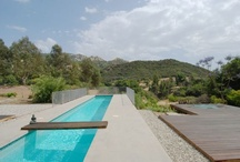 Swimming pools backyard