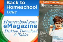Homeschool.com Magazine - Back to Homeschool Issue / Homeschool.com Magazine - Back to Homeschool Issue / by Homeschool.com