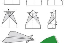 Papirfly - foldning