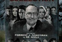 """The Boneyard Collection (Movies) / (Short Synopsis) """"Twisted, quirky anthology of four, short horror/noir/cult films (Boogie with the UnDead, The Devil's Due at Midnight, Her Morbid Desires, Cry of the Mummy) … erotic, dark comedy you don't want to miss. Numerous celeb cameos by Tippi Hedren, George Kennedy, Robert Loggia, British horror queen Barbara Steele, Budd Friedman, and more!"""" (Starring) Danielle James (HBO's True Blood), and #BradDourif (The Lord of the Rings: The Two Towers, Child's Play). / by Green Apple Entertainment"""