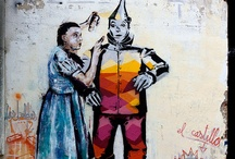 SR. X by WIDEWALLS / Sr. X was born at the beginning of the 80's in a small town in the north of Spain. After following several Arts degrees, he started to bring his ideas to the street trying to get city people to stop, think or just smile for a moment when they saw his work, briefly forgetting their daily routine.