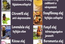 Gyógyolajok, gyógymódok
