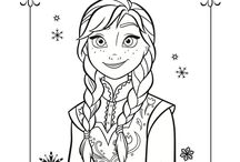 Coloring pages and printables for kids / by Denise Roberts