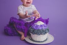 Cake Smash and One Year Photos