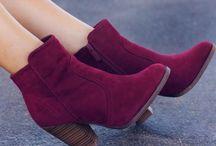 Botas de tornozelo  ❤❤