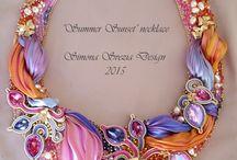 Shibori ribbon