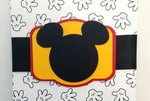 Mickey e Minie - Personalizados