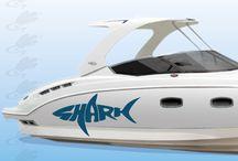 adesivo per barca / http://www.santorografica.com/shop/245-adesivi-barche-prespaziati