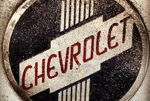 Neat Chevrolet Stuff / Various signs and creations about Chevrolet / by Bobby Hanson