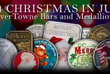 2014 Christmas / 2014 SilverTowne Christmas pieces