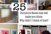 Furniture Makeovers / Furniture before and afters, refinishing old furniture and making it beautiful again.