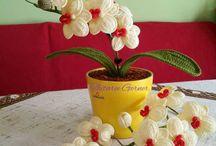 Crochet Orchid Free Pattern
