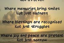 sayings & poems