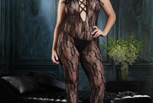 Plus Size BodyStockings / We stock a large selection of popular plus size bodystockings, both short sleeved and long sleeved. As we have such a selection, you'll find sexy plus size bodystockings in lace, leather, and more, just browse through this sexy selection of plus size lingerie to find what you're looking for. As with normal plus size stockings, you'll notice that plus size bodystockings come in both sheer and fishnet varieties. It's a matter of preference as both the same stretch and body shaping.