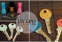DIY KEYS / Ozdob si svoje kľúče.