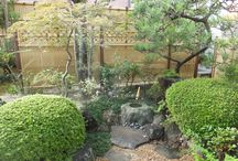 Bamboo fence (my works) / I design, it is a site that was constructed. 私がデザイン、施工した現場です。