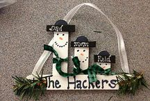 Popsicle Sticks Christmas / by Dusty Hackworth