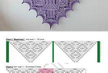 violetti huivi