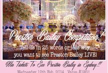 Preston Bailey / Preston Bailey- top celebrity wedding planner comes to Australia in Feb this year! Win tickets to see Preston Bailey Live!