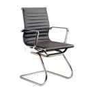 Eames Inspired Visitors Chair - Black