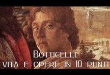 Sandro Botticelli / Sandro Botticelli, vero nome Alessandro di Mariano di Vanni Filipepi (Firenze, 1º marzo 1445 – Firenze, 17 maggio 1510), pittore italiano.