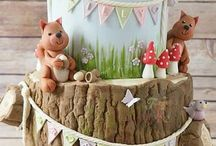 Woodland cake ideas