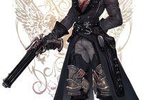 Personagens Gunslinger