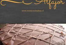 torta alfajor y chocolate