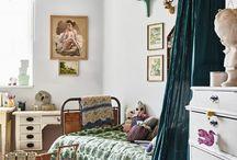 retro pokój dziecka