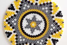 hama beads / by Laura Alvarez