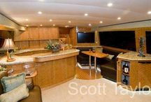 Galley / Kitchen / A kitchen is the hub of most interaction, even on a boat, which is why we design galleys to be user-friendly, efficient and aesthetically pleasing.
