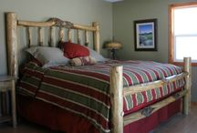 Log Beds and Furniture