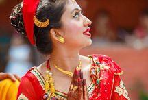 Nepali Wedding / Capturing moments of a Hindu Nepali wedding. Attire, Hair & Make up, decorations, etc