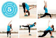 joga, cvičení