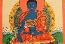 Buddha thangka paintings