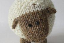 zvířata pletená