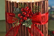 vánoce svícny