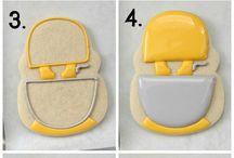 Cake - cookie versiering