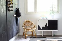 Painted wall decor kidsroom