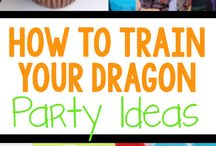 Vivi 5th bday party ideas- how to train a dragon / by Cristina Araiza