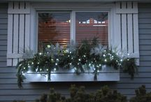 Winter windowsills