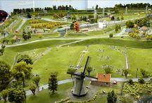 Netherland's beautiful model train layout in HO Scale