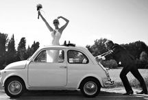 Weddings and Fiat or Vespa