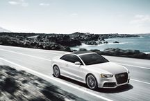 RS 5 / RS 5 is the high-performance sports coupe that's always in the fast lane