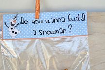 Mrs. Smith's Holiday Party ideas! / Some fun ideas for food or crafts we can do for the party based on your snowman theme.